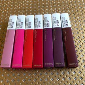 Maybelline Super Stay Matte ink Set Of 7